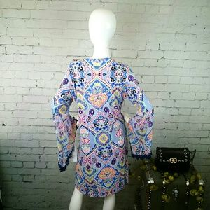 Ivy Lane Dresses - NWT Ivy Lane boho shift dress with bell sleeves
